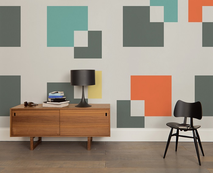 HemingwayDesign Collection, Squared Up Mural