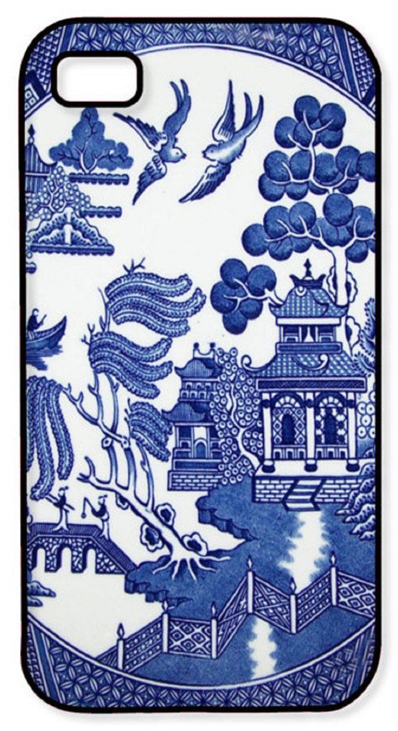 The Vintage Blue Willow iPhone Case