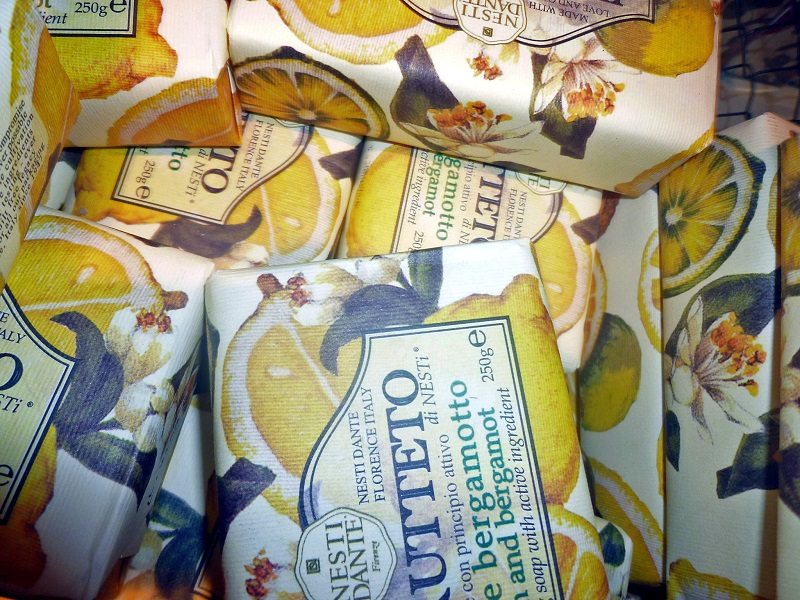 Christmas Gift Ideas, Liberty London, Il Frutteto Citron and Bergamot Soaps