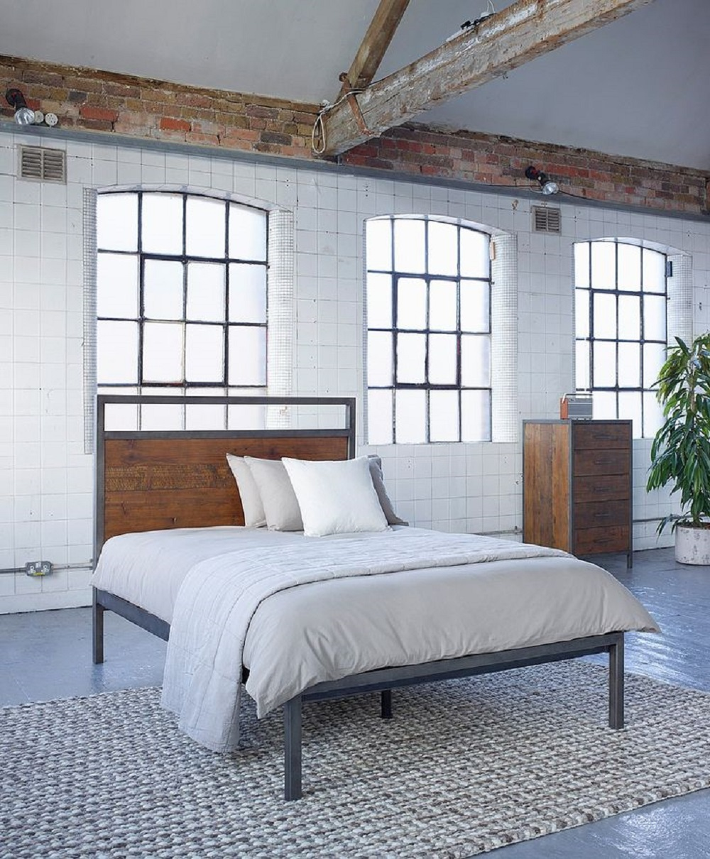 Industrial Style Bedroom Furniture Homegirl London