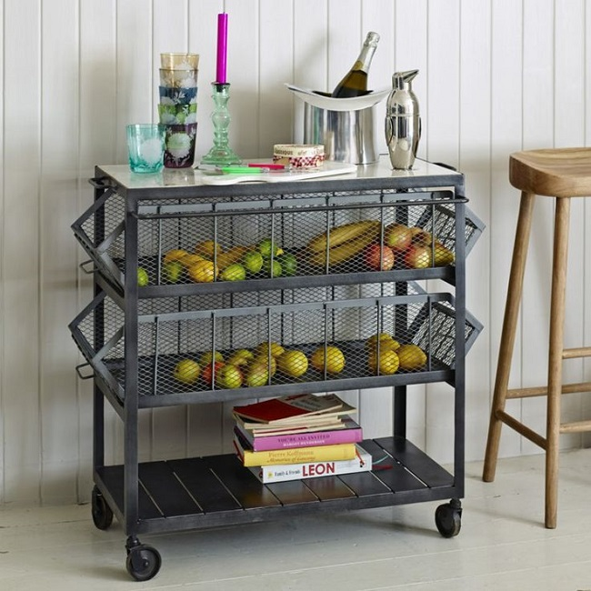 Industrial Kitchen Shelving: Kitchen Storage Solutions Suit Strong Tastes With